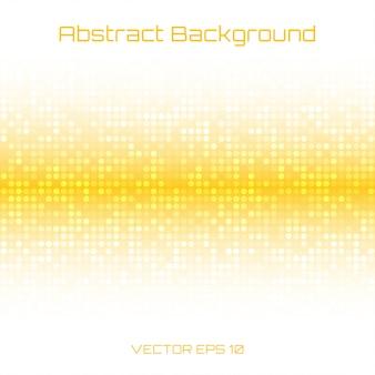 Абстрактный яркий светло-медовый желтый оранжевый технологии бизнес крышка фон, иллюстрация