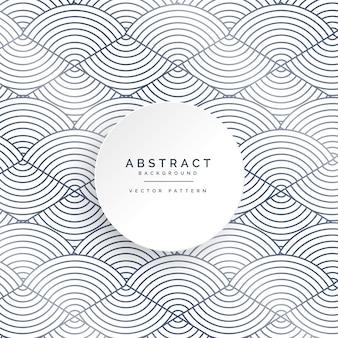 Абстрактные круги на белом фоне
