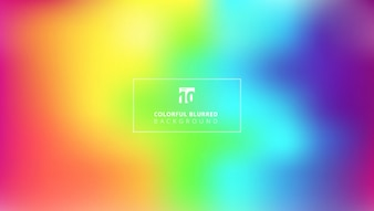 Abstract bright rainbow color smooth blurred gradient