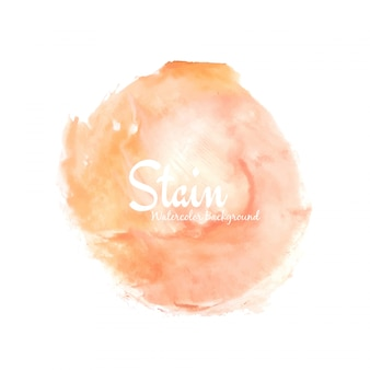 Abstract bright watercolor stain design background