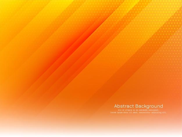 Абстрактный фон ярко-желтой полосой