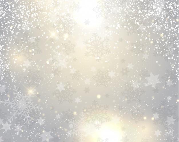 Sfondo astratto brillante con stelle