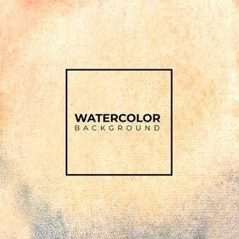 Абстрактный коричневый акварельный фон. цвет брызг на бумаге.