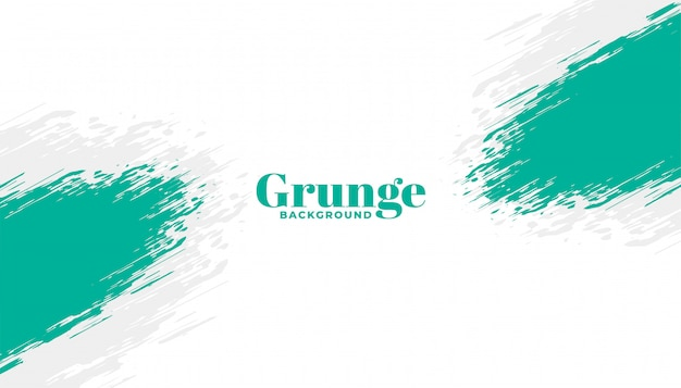 Abstract brush stroke grunge frame background