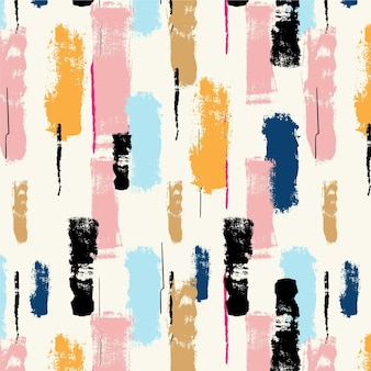 Abstract brush stroke pastel paint pattern