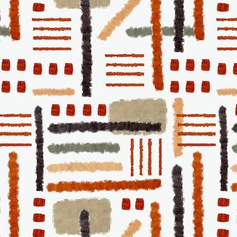 抽象的なブラシストロークパターン