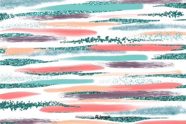 抽象的なブラシストロークの背景