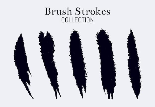 抽象的なブラシストロークコレクション