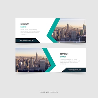 Abstract business banners.