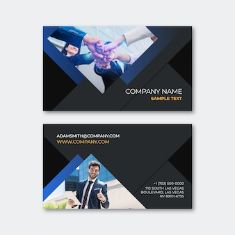 Abstract business card style