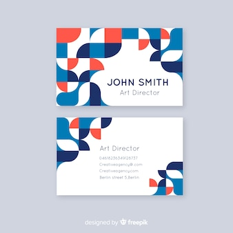 Abstract business card templateabstract business card template