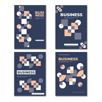 抽象的なビジネスカバー