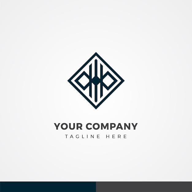 추상 비즈니스 로고 디자인