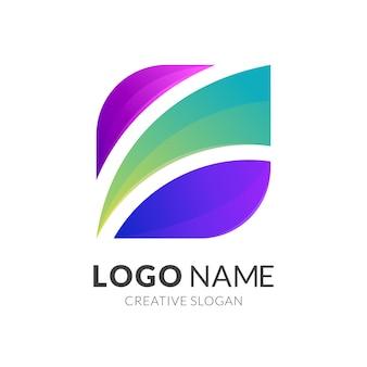 Абстрактный дизайн логотипа бизнеса