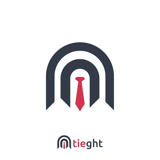 タイのサインデザインと抽象的なビジネスロゴテンプレートのベクトル図