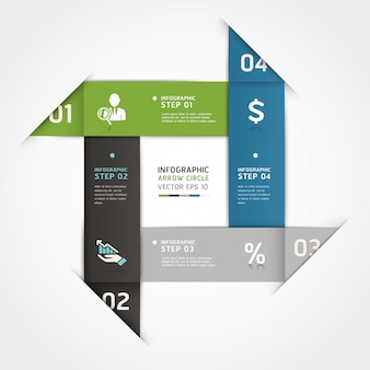 Abstract business steps origami style options can be used for workflow layout, diagram, number options, step up options, web design, infographics.