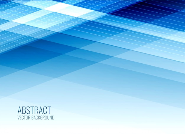 Abstract business style blue background