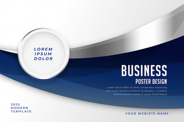 Abstract business style presentation modern template