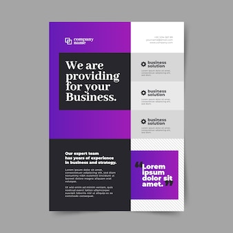 Abstract business template concept