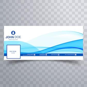 Аннотация бизнес волна facebook баннер для временной шкалы