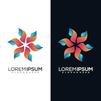 Абстрактный дизайн логотипа бабочки