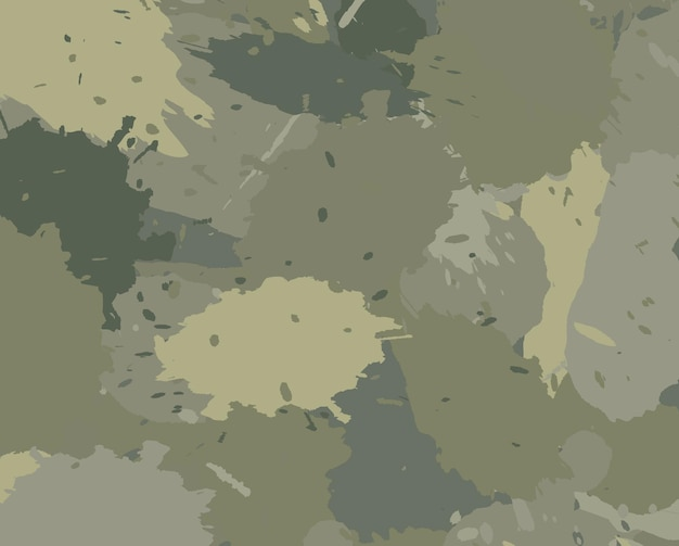 Abstract camouflage background with splashes