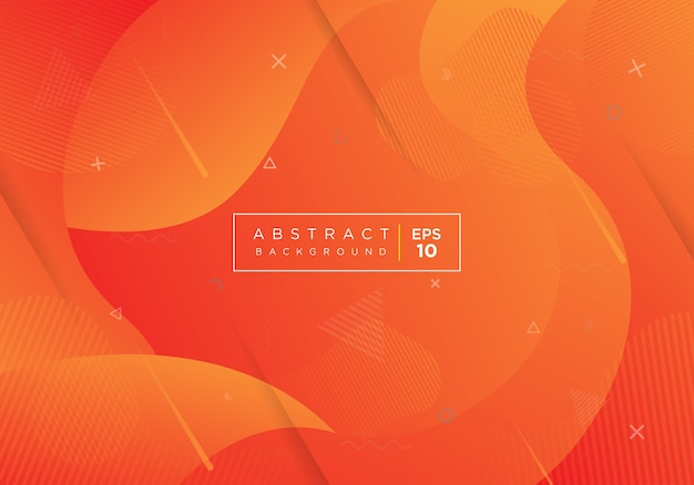 Abstract card design template