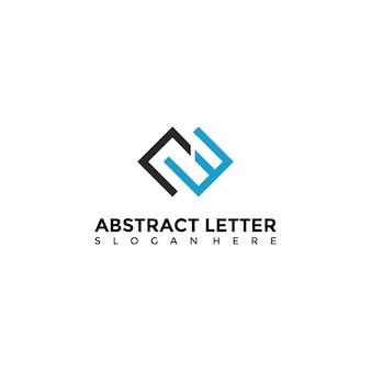 Абстрактный шаблон логотипа ce