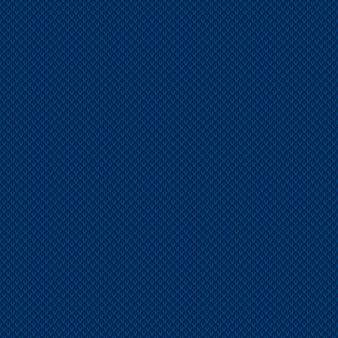 Абстрактный клетчатый узор для вязания в оттенках синего цвета. бесшовные векторные фон.