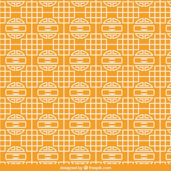 Abstract chinese pattern Premium Vector