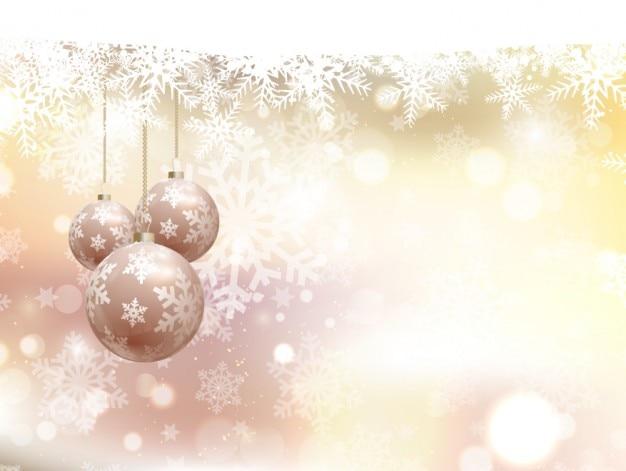 つまらないものと抽象的なクリスマスの背景
