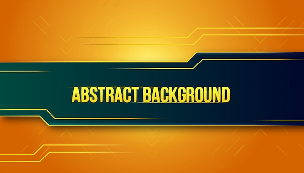Abstract cinematic golden background design