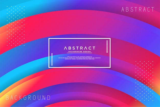 Abstract circle colorful background