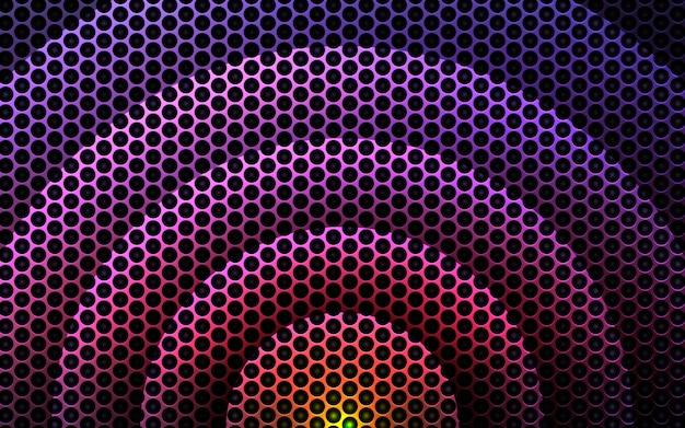 Абстрактный круг светлый градиент фона