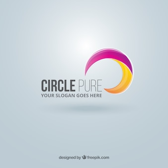 Abstract circle logo