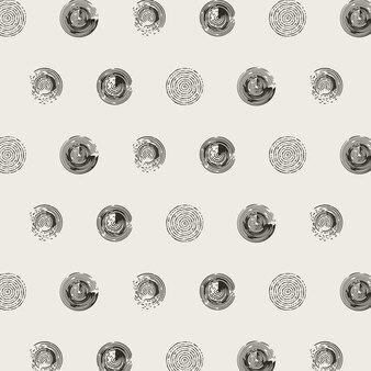 배경에 대 한 추상적인 원형 패턴
