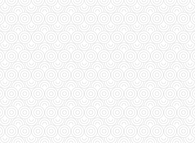 Abstract circle pattern of minimal decoration background.