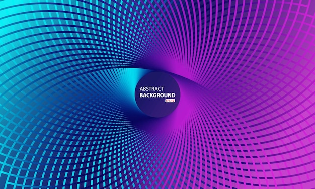 Abstract circle swirl vector background