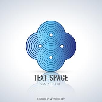 Абстрактные круги логотип