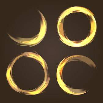 Abstract circular collection