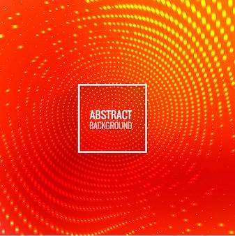抽象的な円形の輝く点の背景ベクトル