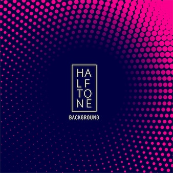 Abstract  circular halftone background