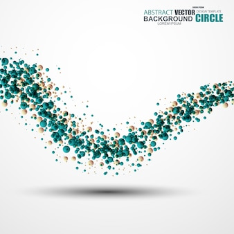 Abstract cirle wave background. vector illustration.