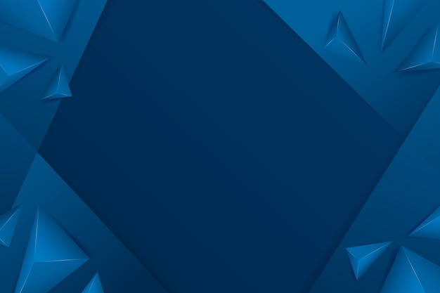 Abstract classic blue background theme