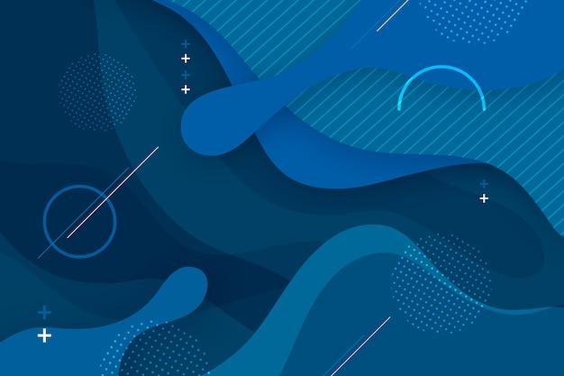 Абстрактная классическая голубая тема