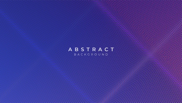 Abstract classic blue background with geometric shape