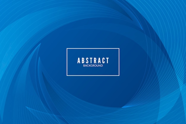 Abstract classic blue modern background design