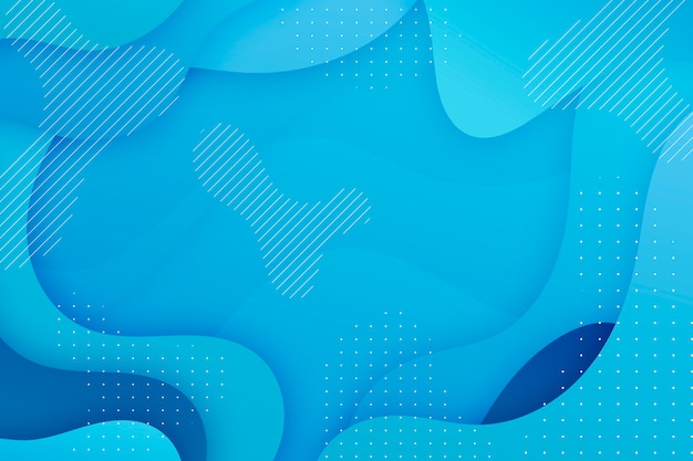 Abstract classic blue screensaver