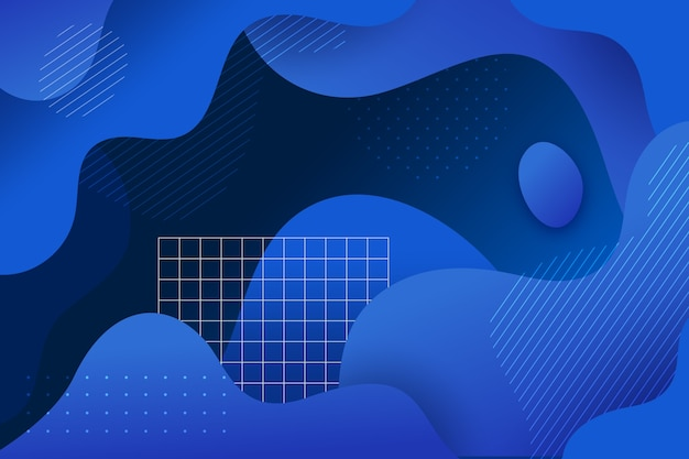 Abstract classic blue theme for background