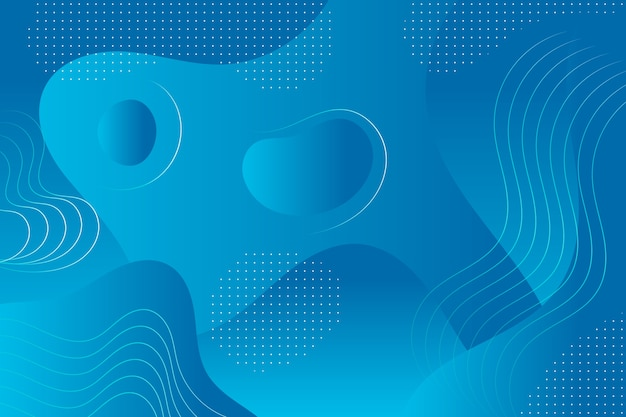 Abstract classic blue wallpaper